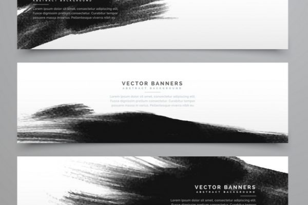 3-banners-with-black-ink_1017-6896