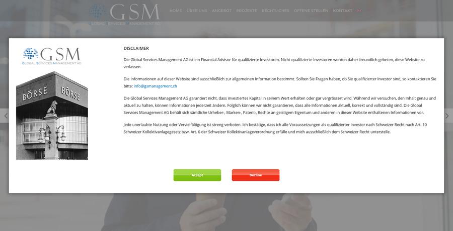 GlobalServiceManagement